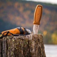 Mora Eldris Knife - Neck Knife Variant - Orange